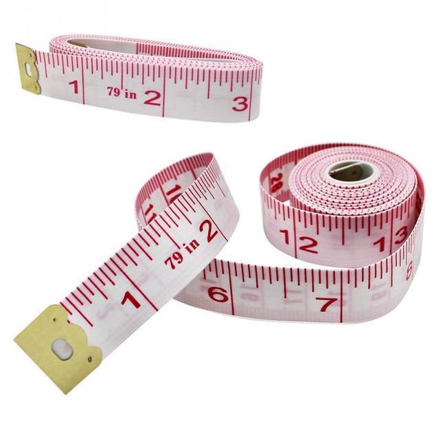 79inch 200cm dual sided body measuring ruler sewing cloth tailor tape measure soft tape measure. Black Bedroom Furniture Sets. Home Design Ideas