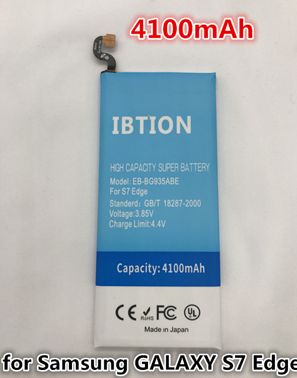 IBTION 4100mAh EB-BG935ABE Replacement Battery For Samsung GALAXY S7 Edge G935F