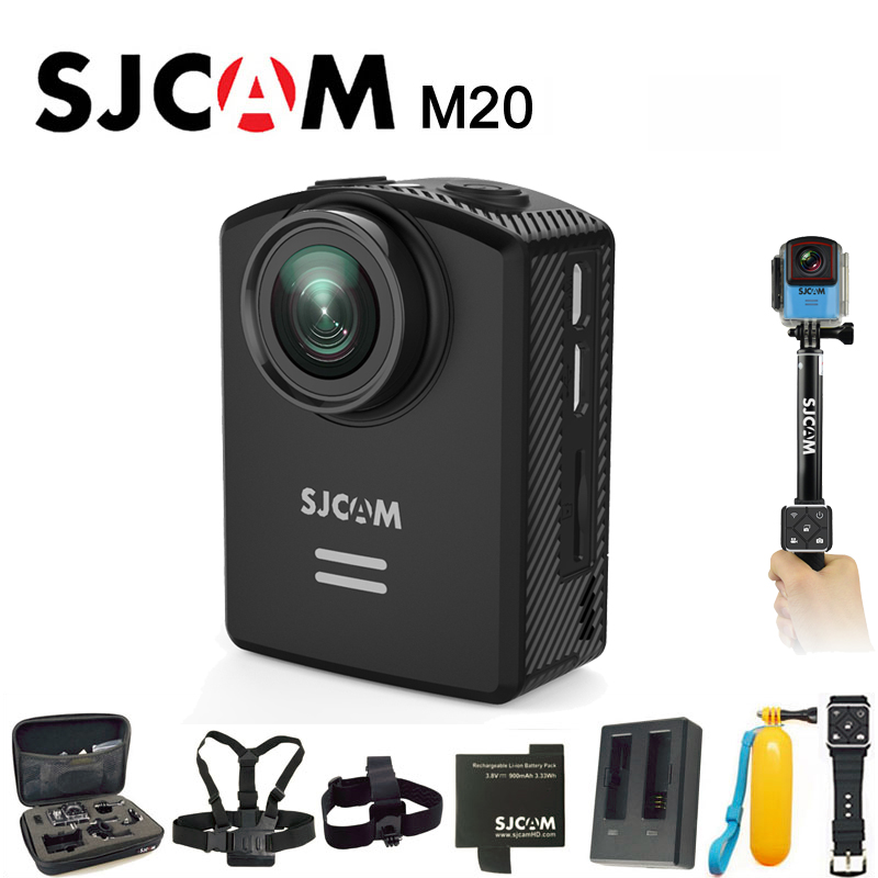 цена на Original SJCAM M20 Sports Action Camera 4K Wifi Gyro Outdoor mini Camcorder 2160P HD 16MP SJ Cam 30m Waterproof Extreme Sport DV