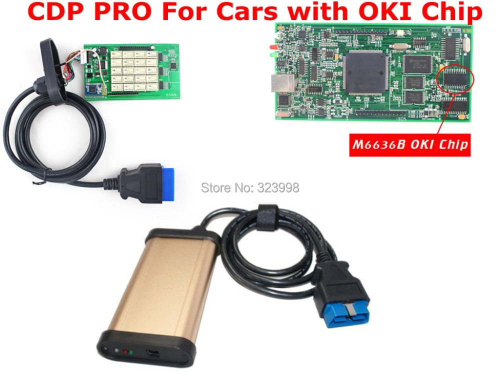 ФОТО Best Quality 2014.2 TCS cdp pro with M6636B OKI  full Chip +bluetooth full function for FRD