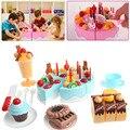 75 Pcs Kitchens Cutting Toy Birthday Cake Pretend Play Toy Set for Kids Girls