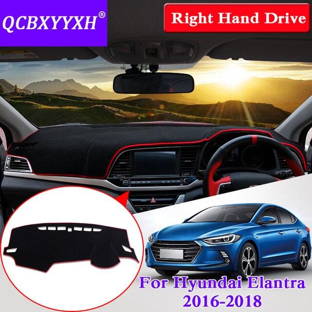 for hyundai elantra 2016 2018 right hand drive dashboard mat
