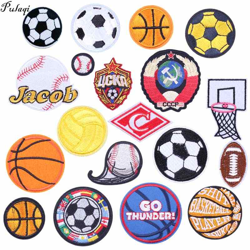 Pulaqi di Calcio di Patch Distintivo Ricamato Toppe e Stemmi Per Abbigliamento FAI DA TE PFC Cska mosca Football Club Distintivi e Simboli Accessori di Abbigliamento H