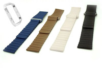 Fitbit Blaze Accessory Band Genuine Leather Loop With Magnet Lock Strap Replacement Band For Fitbit Blaze
