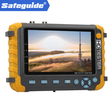 2020CCTV Tester IV8W 5MP 4MP AHD TVI CVI CVBS Monitor analogico Tester telecamera di sicurezza con test cavo PTZ UTP