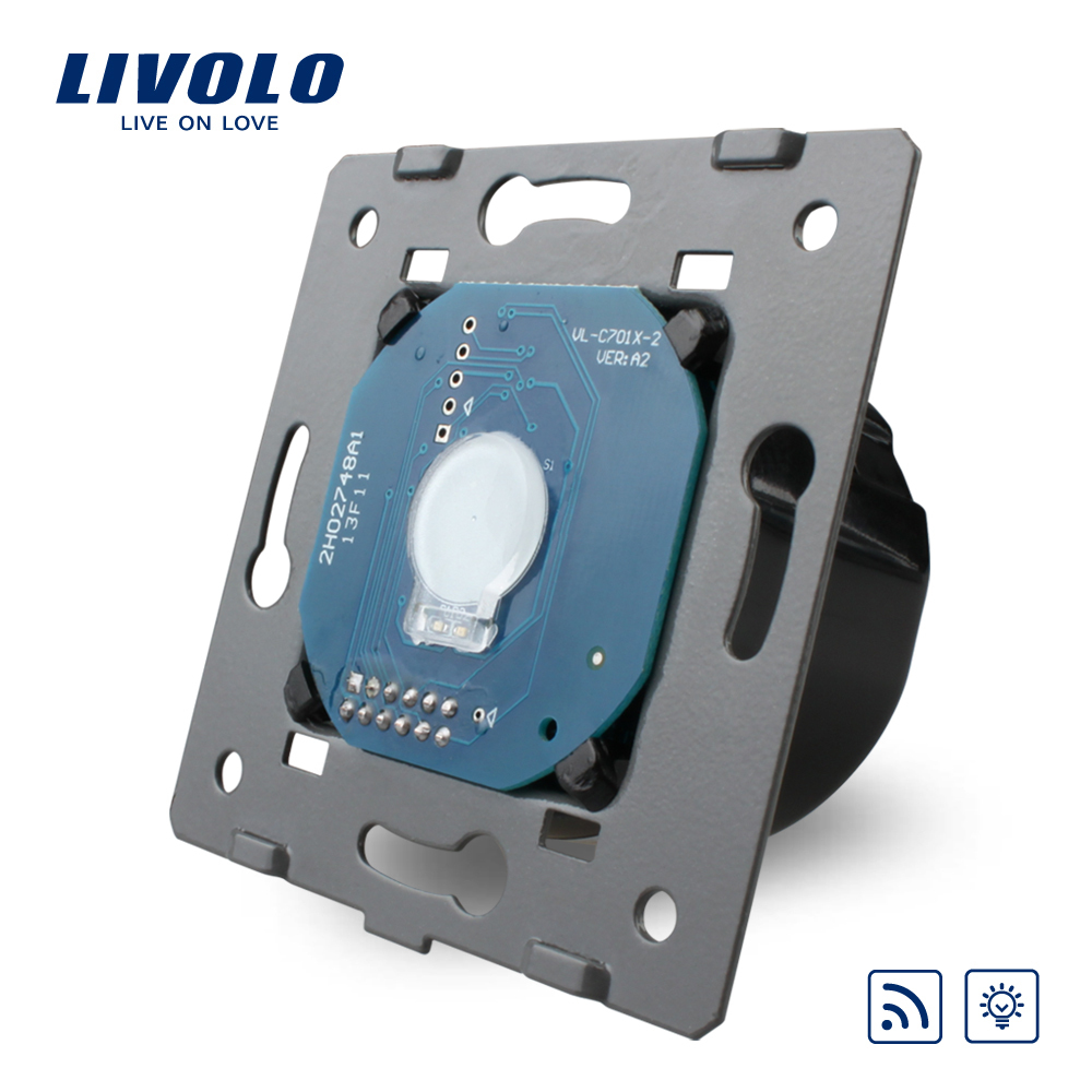 Livolo EU Standard Wall font b Light b font Remote Touch Dimmer Switch Without Glass Panel