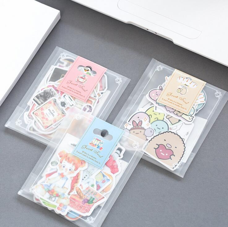 Diary Life Cartoon Food Decorative Stickers Adhesive Stickers Scrapbooking DIY Decoration Diary Stickers