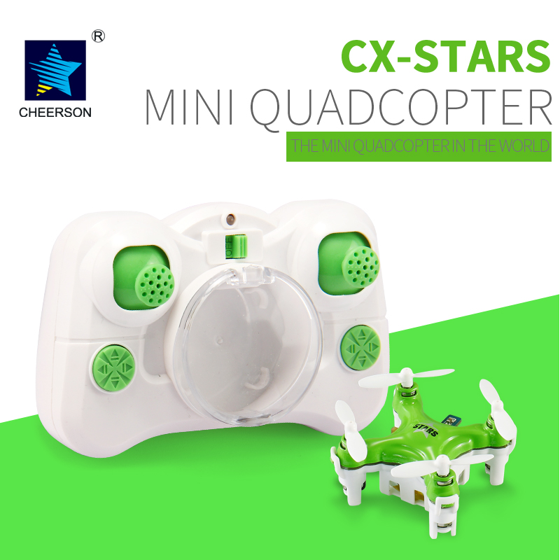 цена CHEERSON CX-Stars CX Stars RC Helicopter Mini 2.4G 4CH 6-Axis Drone with 3D Flip Headless Mode RC Quadcopter for Gift Toys
