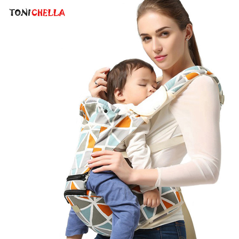 Baby Carrier Sling Backpack Infant Hipseat Kangaroo Ergonomic Newborn Mlutifunction Waist Stool Necessary Household Tools BB3026