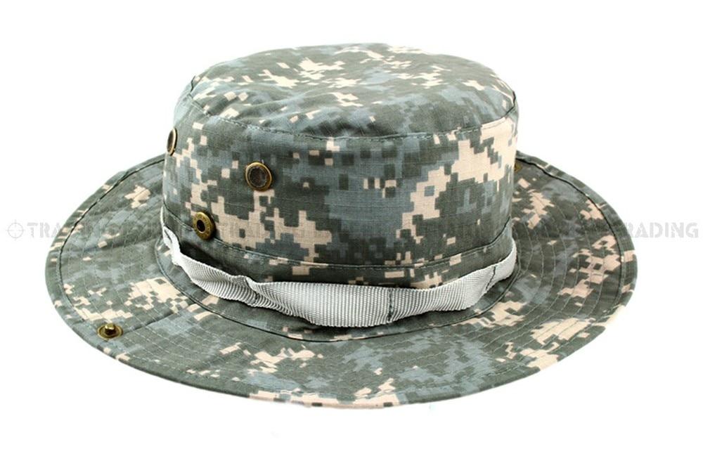 USMC спортивная мужская бейсбольная кепка Кепка и шляпа Multicam Boonie hat(CP ACU Woodland Green BK GW MD MU SC - Цвет: ACU