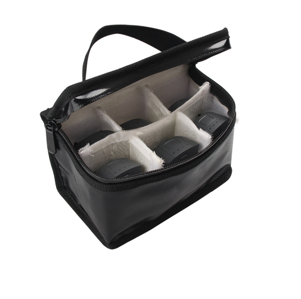 Fireproof Lipo Battery Carry Bag For DJI Spark Mavic Pro Phantom 4 3 RC Drone Intelligent