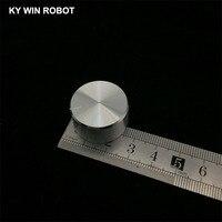 potentiometer knob 1 pcs 25x13mm Aluminum Alloy Potentiometer Knob White (4)