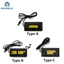Phonefix PPD120 Unsolder Bga Rework Station Koperen Verwarming Plaat Voor Iphone A8 A9 A11 Cpu Nand Ic Reparatie Lassen Plaat