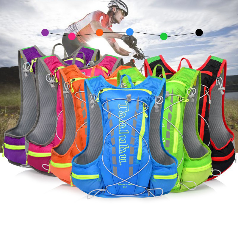 Cycling Bag Riding Bicycle Bike Backpack 1.5L Hydration Backpack 12L Outdoor Lightweight Travel Riding Hiking Climbing Backpack bicycle backpack mtb outdoor enquipment 40 l suspension breathable panniers cycling backpack climbing riding bicycle bike bag