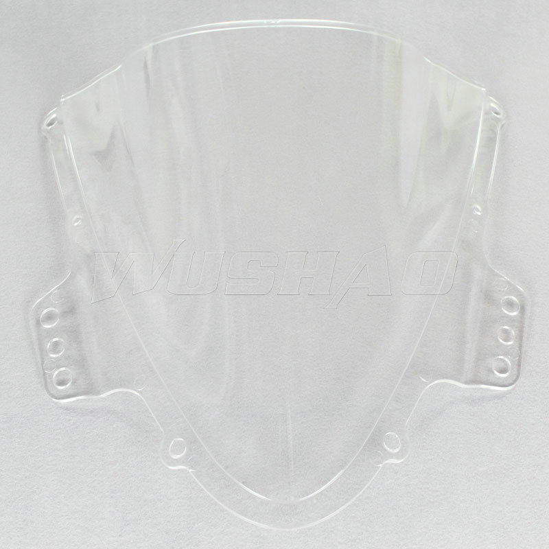 Motorcycle Double Bubble Windshield WindScreen For 2005