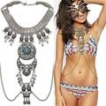 Nueva Llegada Estilo Bohemio Playa Bikini Sexy Cuerpo Cadena Collar de la Declaración para Las Mujeres Collar de la Joyería de La Vendimia 9