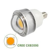 E27 Cree CXB3590 LED Grow Light Bulbs 70W Full Spectrum 3500K for Indoor Plants VEG Flowering