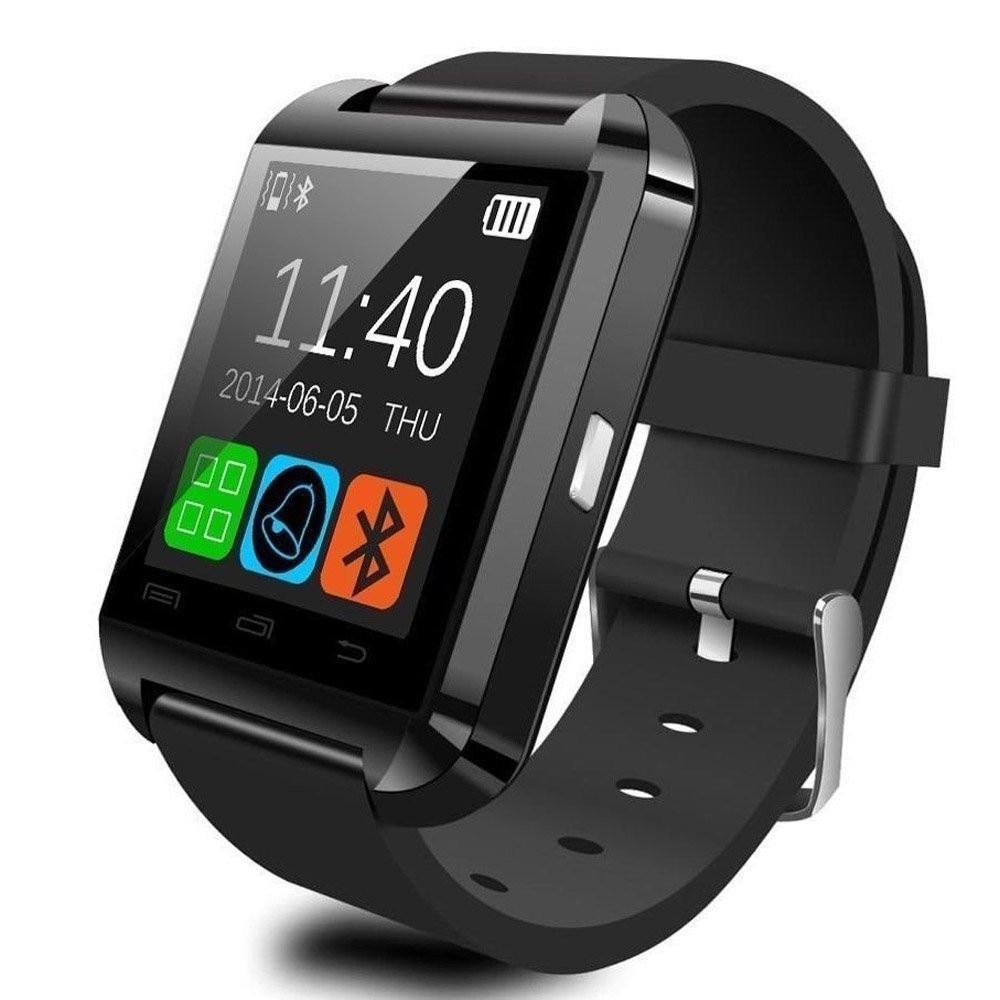 Bluetooth Smart Watch U8 Altimeter Barometer Sport Clock Wrist Watches Waterproof Passometer Smartwatch FOR IOS Android Phone