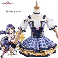 UWOWO Version Sonoda Umi Love Live Lovelive School Idol Project Flower Bouquet Idolized Costume Women