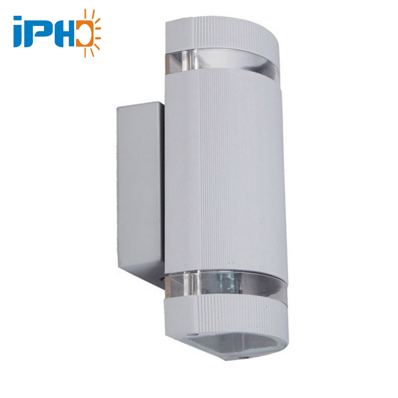 Iphd Modern Outdoor Wall Light Up Down Double Head Wall