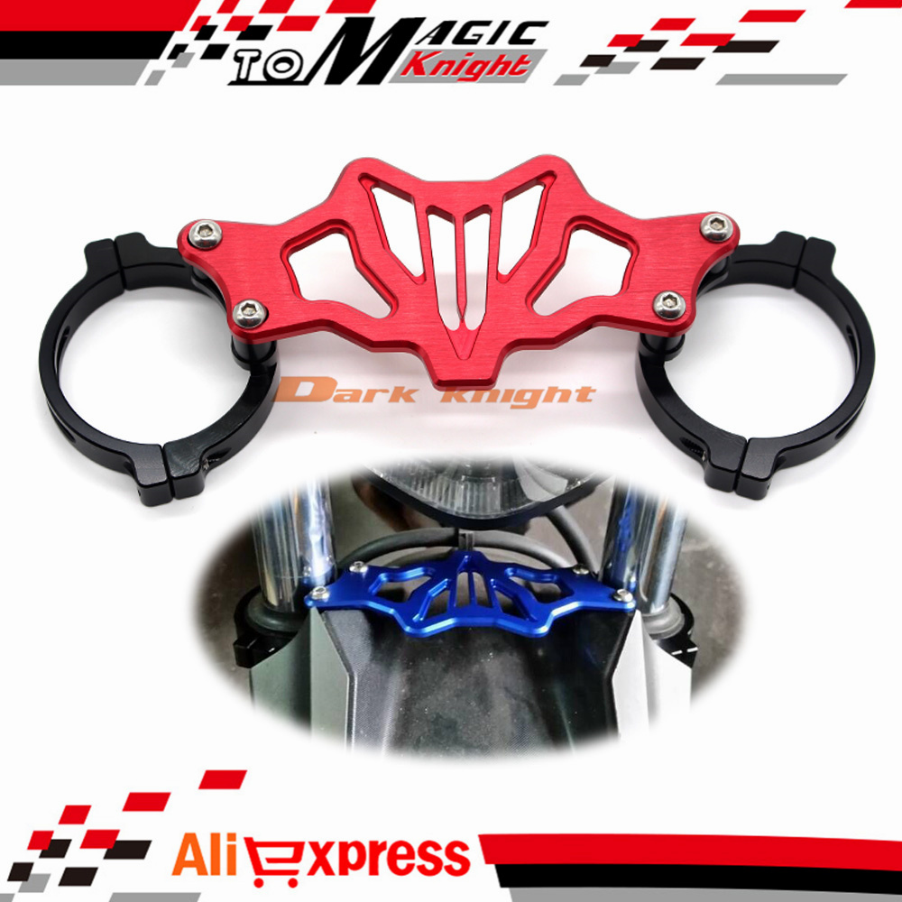 Подробнее о Red Motorcycle BALANCE SHOCK FRONT FORK BRACE For YAMAHA MT07 FZ07 MT-07 FZ-07 2014-2016 for yamaha mt07 fz07 mt 07 fz 07 2014 2015 motorcycle cnc billet aluminum front fork cover caps free shipping