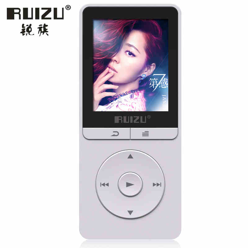 Latest RUIZU X20 HiFi Digital Lossless Player Sport MP3 1.8 Screen Can Play 100 Hours 8GB With Recorder,FM,E-Book,Clock,Data