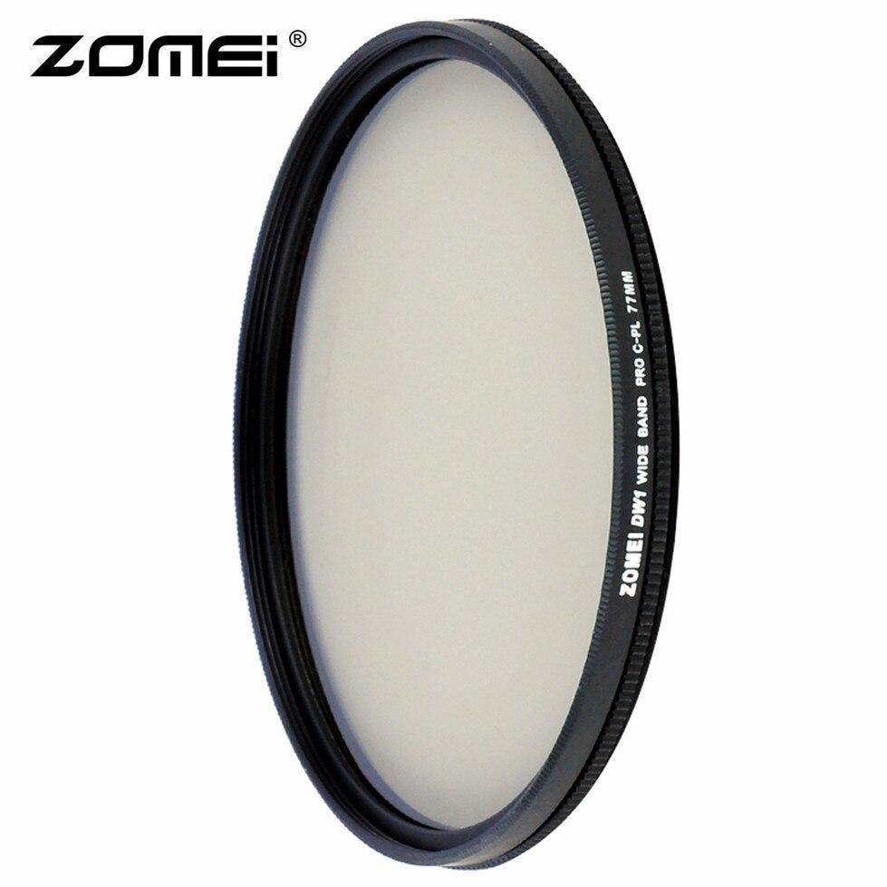 Zomei HD Ad Alta Definizione CPL Polarizzatore Circolare Filtro Polarizzatore per DSLR Camera Lens 49mm 52mm 58mm 62mm 67mm 77mm 82mm