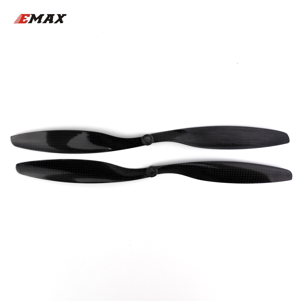 2pair EMAX APC/SF propeller 1245 carbon fiber CW/CCW 12 x 4.5 inch for quadcopter UAV multi axis copter drone accessory