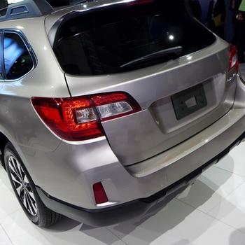 Pour Subaru Outback 2015 ABS Chrome après feux arrière lampe couvre cadre garniture voiture qualité style paillettes