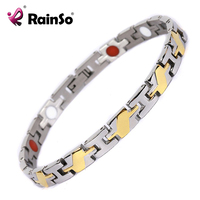 2014 Fashion Women Jewelry Bracelet Healing Magnetic 316L Stainless Steel Bracelet New Men Or Women Bracelet