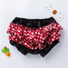 2018 Baby Girl Bloomers Childrens Shorts With Ruffles Vestito Bimba High Quality Newborn Nappy Ruffle Spodenki Szorty