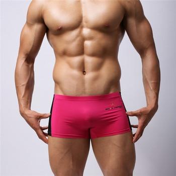 3ba4831472e4 5 unids/lote ropa interior para Hombre bóxer Hombre Calzoncillos Homme  Calzoncillos de algodón ...