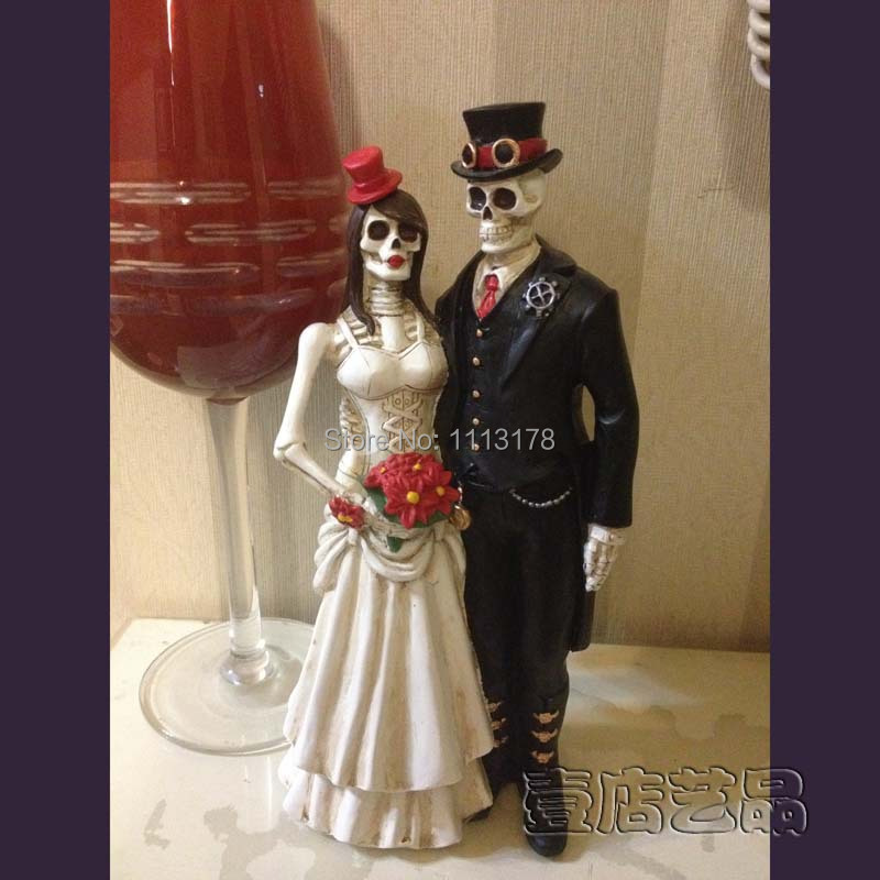 Online Get Cheap Halloween Wedding Cake Toppers Aliexpresscom