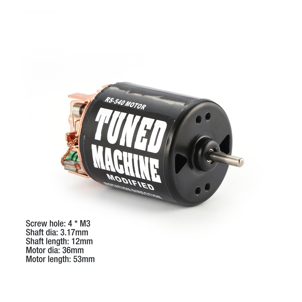 AUSTAR AX 540 21T/27T/35T/45T/55T 3.17mm Brushed Motor for 1/10 On-road Drift Touring RC R