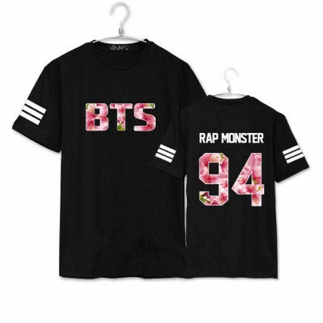 2017 новая модная майка MMA мужская Bangtan футболка для мальчиков Kpop летняя стильная футболка с короткими рукавами и принтом цифр брендовая одежда для мужчин
