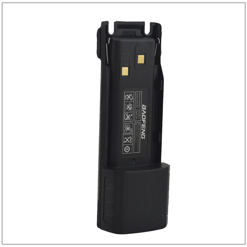 Radio Baofeng UV-82 walkie talkie Li-Ion Akku 3800 mAh 7,4 V für Baofeng Pofung UV-82, UV82, UV-8D, UV-82HX Portable Two-way Radio