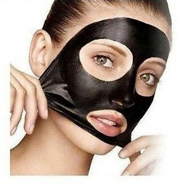 10Pcs Acne Blackhead Mask for the Face Nose Pore Cleanser Strip Suction Blackhead Remover Peel off Black Masks Beauty Skin Care Skin Care