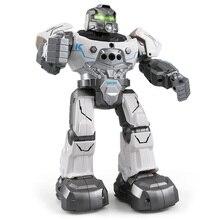 JJRC R5 RC Robot Auto Follow Smartwatch Control Sing Dance Intelligent Programming 4-Channels Gestures sensor Robots 2018