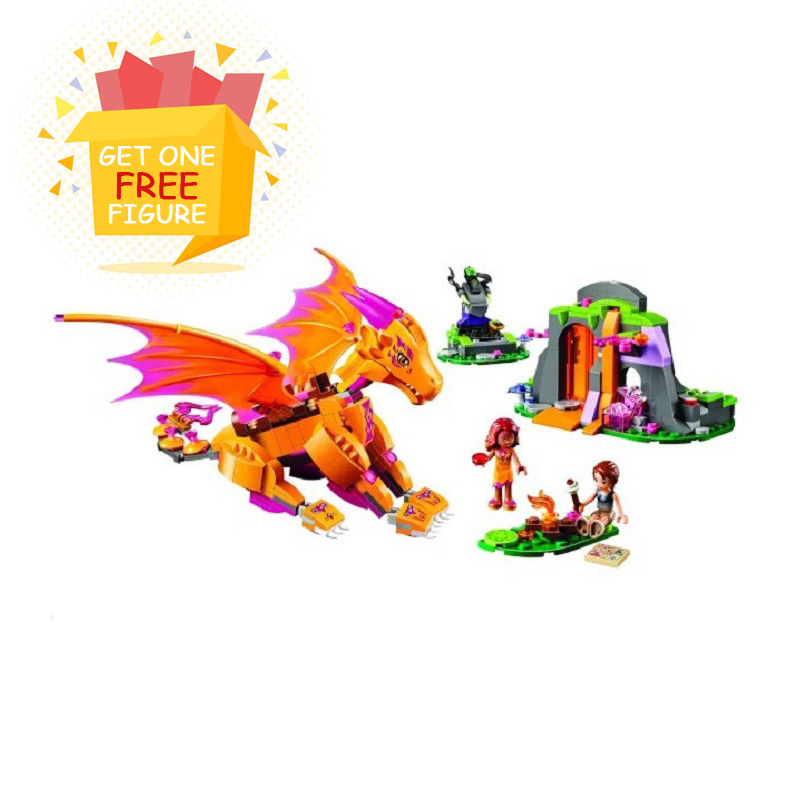 Bela Pogo Compatible Legoe Friends Elves Azari Bakery Fire Dragon Princess Fairy Girls Building Blocks Bricks toys for children princess ponies 6 best friends for ever