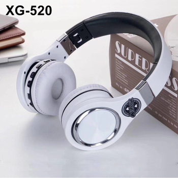 XG-520 Wireless Headphone Bluetooth noise canceling with microphone superbass headset for gaming