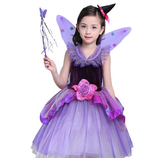 44c1c99a9 طفل الفتيات الملابس هالوين كرنفال دور لعب زي الأطفال أوروبا وأمريكا تأثيري  فساتين الأطفال ملابس أطفال