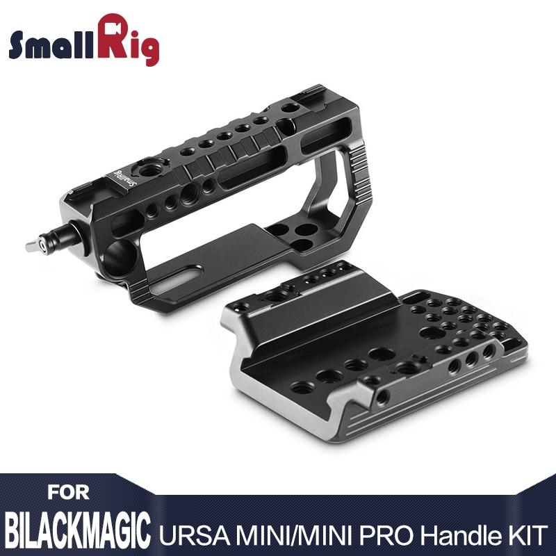 SmallRig Aluminum Top Handle Kit for Blackmagic URSA Mini/ Mini Pro Heavy Duty D-Shape Handle 2029 kitrcp268888gyuns03008 value kit rubbermaid slim jim handle top rcp268888gy and unisan plunger for drains or toilets uns03008