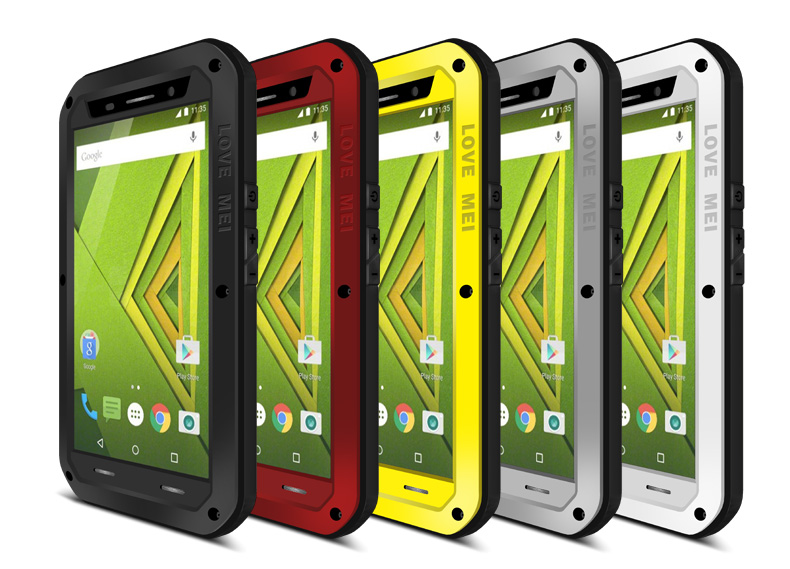 the latest 315dd adf68 US $30.0 |Waterproof Shockproof Dirt proof Three Proofing Case For Motorola  Moto X Play XT1561 Case Cover Phone Shell with Gorilla Glass-in Fitted ...
