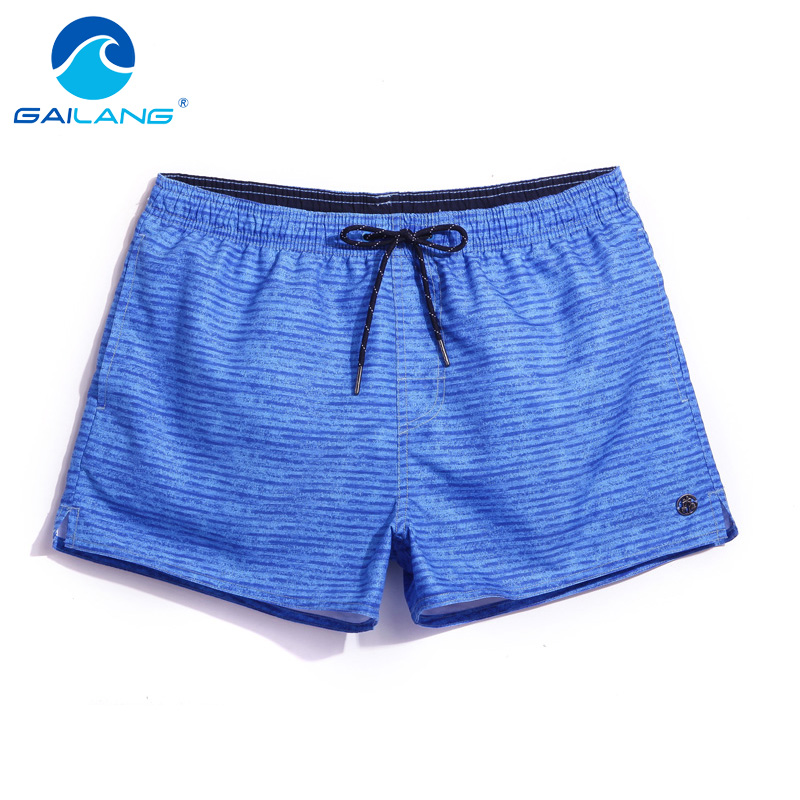 Gailang Brand Fashion Men's Beach Board Shorts Trunks Quick Drying Plus Size Boxer Trunks Men Swimwear Swimsuits Active Trunks
