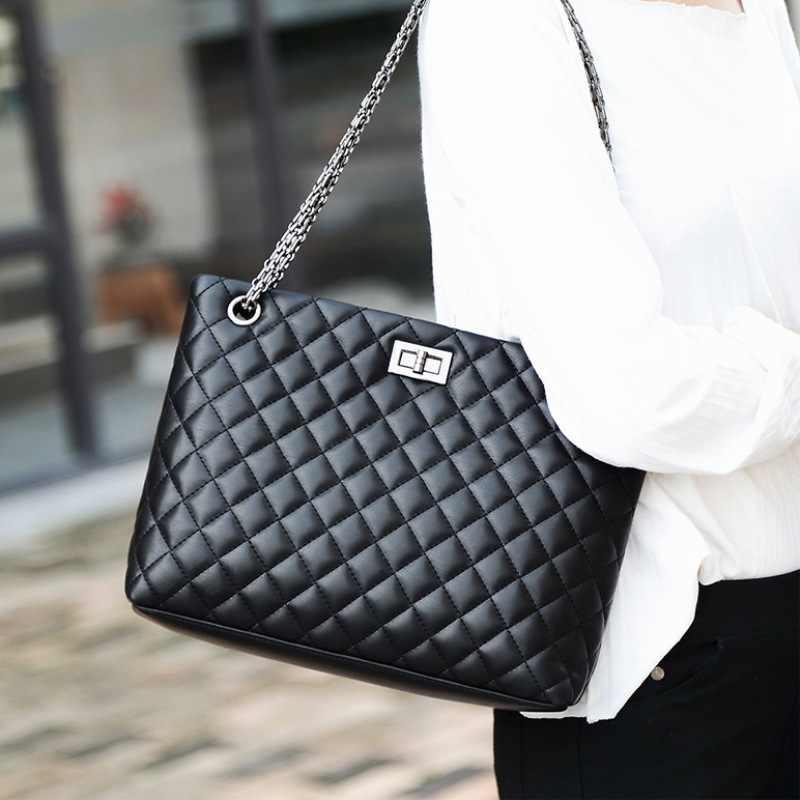 Женская сумка с ромбовидной решеткой, женская сумка с цепочкой, известный бренд, сумки на плечо, высокое качество, женская сумка-мессенджер, сумка Bolsas Feminina