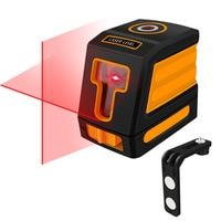 Mini Laser Level Red 2 Lines Self leveling Laser Leveler Vertical Horizontal Cross Laser Red Beam Line Measuring Instrument