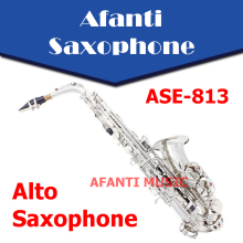 Eb tone / Brass body /  Nickel Plated Alto Saxophone (ASE-813) / Eb