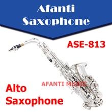Eb tone / Brass body /  Nickel Plated Alto Saxophone (ASE-813) / Eb