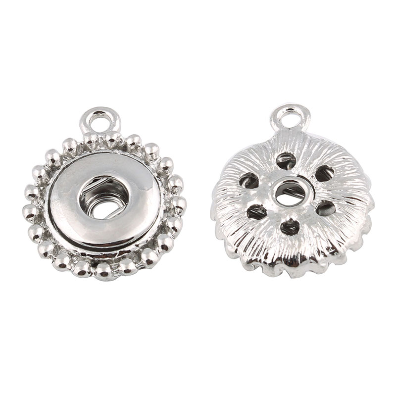 10pcs/lot Hot Wholesale 12MM Snap Buttons Fittings For DIY Snap Bracelets& Necklace OEM Xinnver Jewelry Accessory ZM013