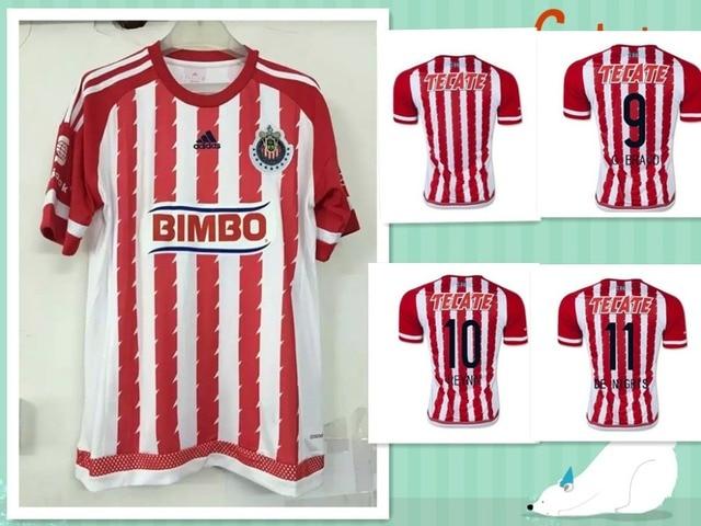 85b5764bf22 Top quality 15 16 Chivas Guadalajara soccer jersey mexico football club  shirts 2015 Chivas jersey 2016 shipping free